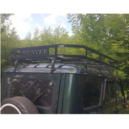 Багажник УАЗ 469, Хантер Викинг, 10 опор. Кронштейны под галогенные фонари. С двумя надписями HUNTER
