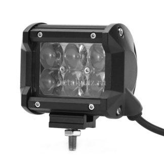 Фото 7 - Фара светодиодная CH019В 18W 6 диодов по 3W 4D дальний свет.