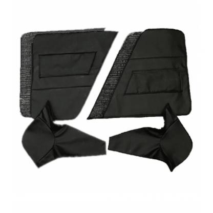 Утеплитель дверей и центральных стоек УАЗ 469 (6 предмет.) (винилкожа, поролон, ватин)