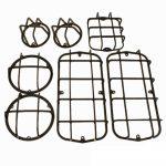 Защита фонарей на УАЗ 469, 452, (Комплект 7 предметов)