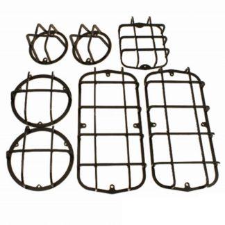 Фото 3 - Защита фонарей на УАЗ 469, 452, (Комплект 7 предметов).
