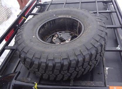 Кронштейн крепления запасного колеса на все виды багажников1