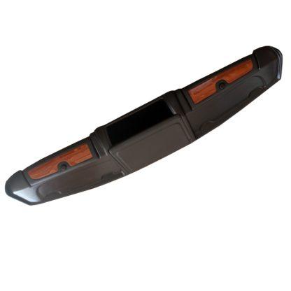 Полкаверхняя«Мираж»сдвумяящикамисдекорат.накладками«поддерево»(стеклопластик)