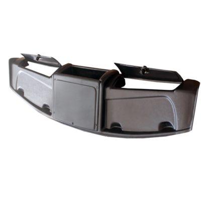Полка верхняя «Мираж» с двумя ящиками  АБС пластик