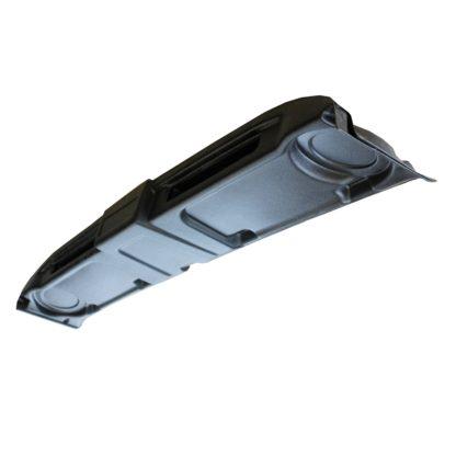 Полка верхняя УАЗ – Хантер, колонки + магнитофон (АБС пластик)