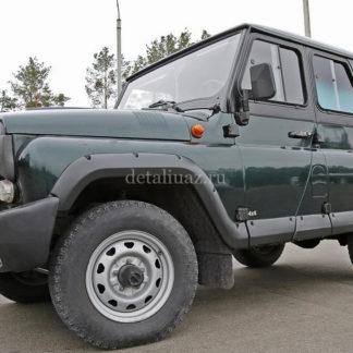 Молдинги УАЗ-469, Хантер. Широкие, 10 деталей (АБС пластик)1 ФОТО-2