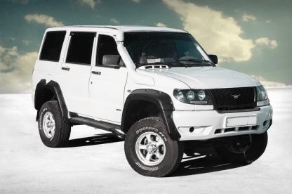 Расширители колесных арок УАЗ Патриот 3163 10080 «Lapter» ТКУ-3163 (дорестайлинг)1