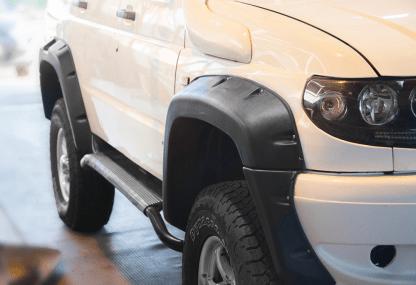 Расширители колесных арок УАЗ Патриот 3163 10080 «Lapter» ТКУ-3163 (дорестайлинг)2