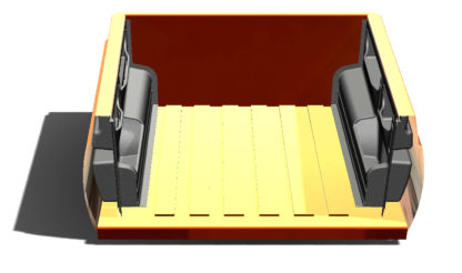 Боковые панели грузового кузова с органайзером УАЗ Патриот Пикап