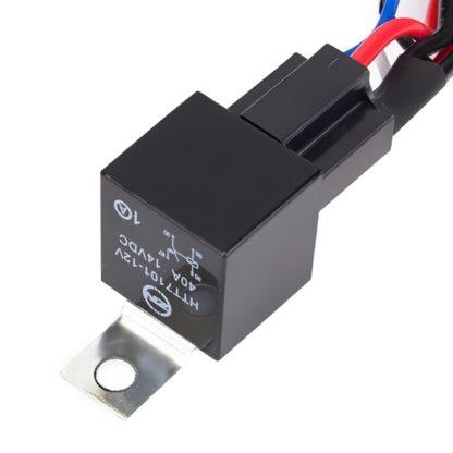 Комплект проводки для подключения светодиодных фар балок для одной фары кнопка