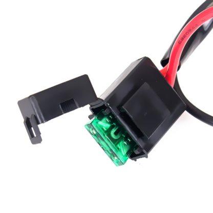 Комплектпроводкидляподключениясветодиодныхфар(балок)дляоднойфары(кнопка)