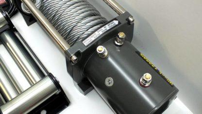 Лебедка электрическая V Electric Winch lbs кг со стальным тросом