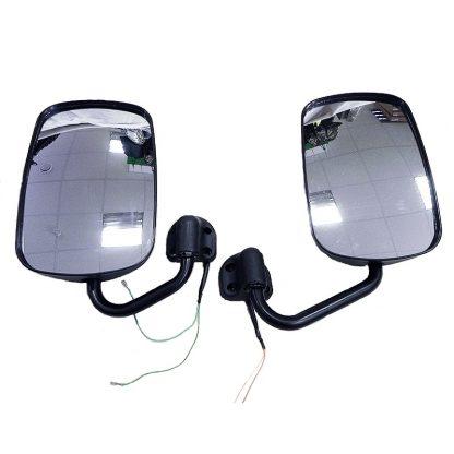 Зеркало заднего вида УАЗ-452 (Буханка), электрообогрев, увеличенное (2 шт)