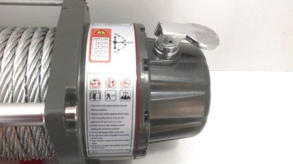 ЛебедкаэлектрическаяVElectricWinchGRIZZLYlbsкг(блок+механизмIP),стальнойтрос,несъемныйблокуправления