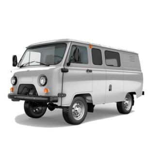 Глушитель УАЗ 452, 3303, 39094