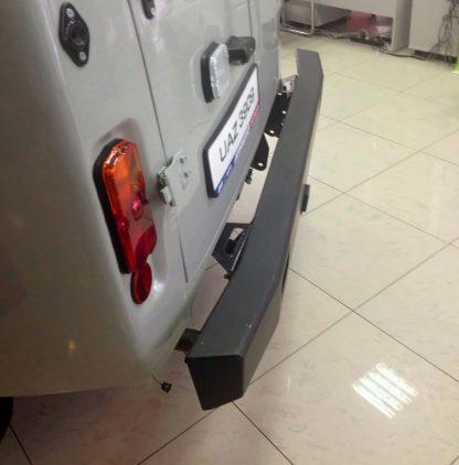 Кит-набор бампер Вездеход задний усиленный на УАЗ 452, сталь 3, 6 мм1