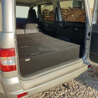 Фото 20 - Органайзер-спальник в багажник УАЗ-3163 (Патриот) «Стандарт ГБО-1» (рестайлинг).