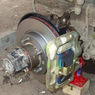 Передние дисковые тормоза УАЗ