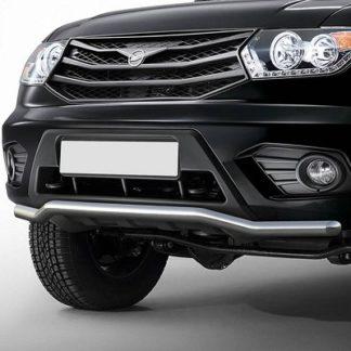 Защита переднего бампера УАЗ Патриот