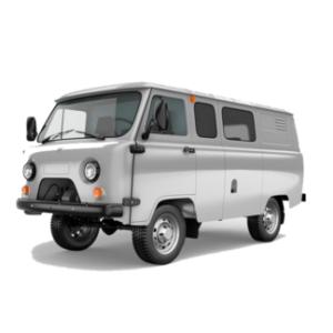 Защита заднего бампера УАЗ 452, Буханка