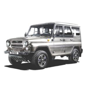 Защита заднего бампера УАЗ-469, Хантер