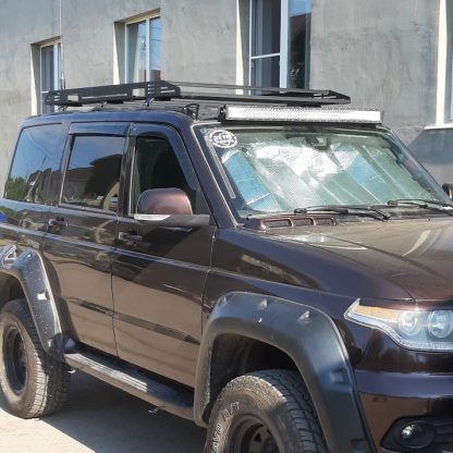 Багажник УАЗ Патриот XTE с креплением на водосток.1