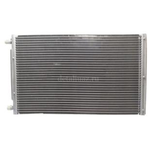 Фото 16 - Конденсатор (радиатор)кондиционера Delphi (LRAC 0363) Лузар.
