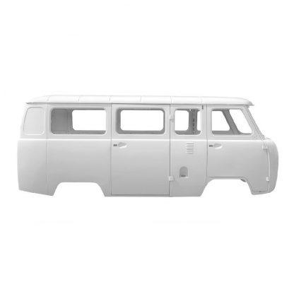 Каркас кузова УАЗ 2206 Микроавтобус, щиток приборов Евро-4 (белая ночь)