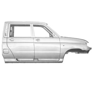 Фото 10 - Каркас кузова УАЗ Пикап (2363).