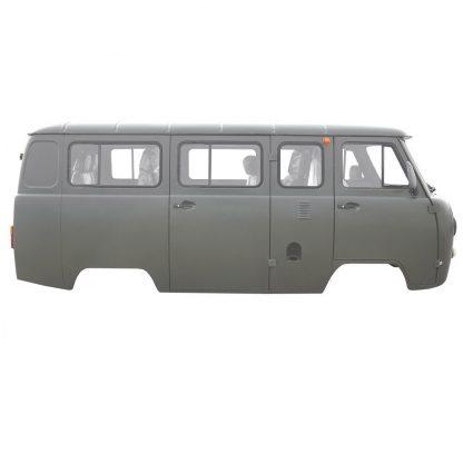 Кузов УАЗ 2206. Микроавтобус, мягкие сиденья, 9 мест, инжектор (защитный)