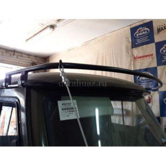 Кронштейн для установки веткоотсекателей УАЗ 452 (съемный)