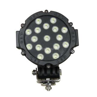 Фото 21 - Фара светодиодная CH013В 51W 17 диодов по 3W, черный корпус.