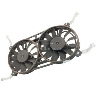 Фото 3 - Электровентилятор радиатора Патриот (сдвоенный) с кожухом.