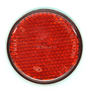 Фото 29 - Катафот ФП-311 (с центр. креплением) красный.