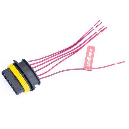 Колодка с проводами АХ-430 (к эл. педали газа)