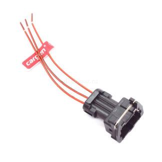 Фото 22 - Колодка с проводами к датчику положения дроссельной заслонки, распредвала, холостого хода.
