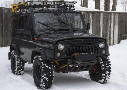 Облицовка радиатора УАЗ 469Хантер Злая-5