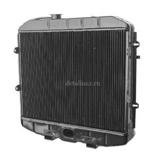 Фото 5 - Радиатор вод охлаждения 3-х рядный ЗМЗ-514 (МЕДНЫЙ).