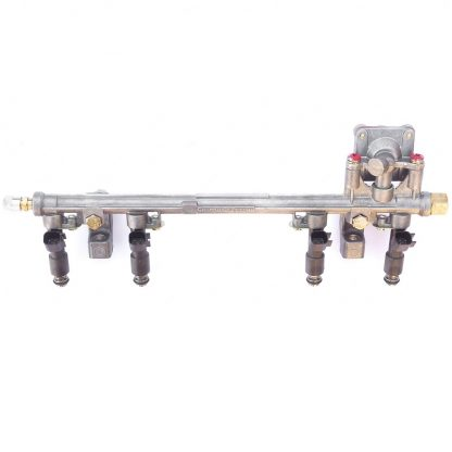 Рампа топливная в сборе с форсунками УМЗ-А274 EvoTech 2.7