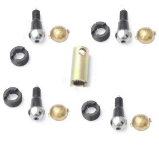 Фото 26 - Ремкомплект шкворневого узла Спайсер (вкладыш латунный 2 уса) MetalPart.