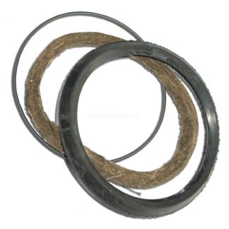 Фото 10 - Сальник поворотного кулака (пружина, уплотнитель, войлок).