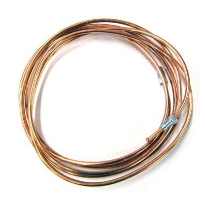 Трубка тормозная от заднего верхнего шланга к регулятору давления Патриот (медь)