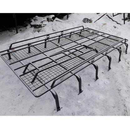 Багажник на ГАЗель Пролёт 12 опор с траками (сетка 5050)