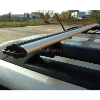 Фото 22 - Поперечины рейлингов ТП на УАЗ Патриот (аэродинамические).