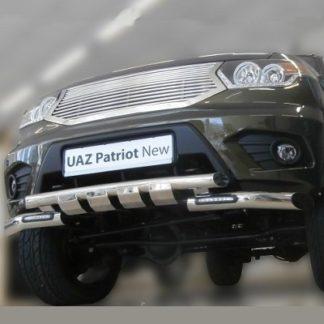 Защита бампера на УАЗ