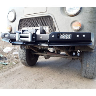 Бампер передн силовой УАЗ-452 РУБИКОН-1 без кенгурина ФОТО-0
