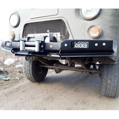 Бампер передн силовой УАЗ-452 РУБИКОН-1 без кенгурина