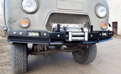 Бампер передн силовой УАЗ-452 РУБИКОН-1 без кенгурина1