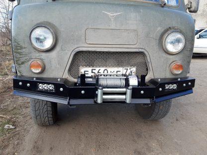 Бампер передн силовой УАЗ-452 РУБИКОН-1 без кенгурина2
