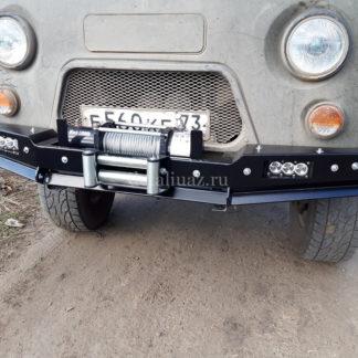 Бампер передн силовой УАЗ-452 РУБИКОН-1 без кенгурина4 ФОТО-3